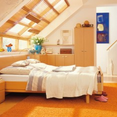 Inspirational attic or loft bedroom for your home