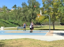 Basketball at Barbadanes Park Mission Viejo