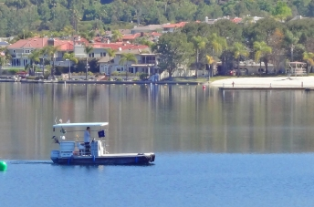 Boating on Lake Mission Viejo   View of Private Beach