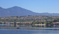 Fishing on Lake Mission Viejo