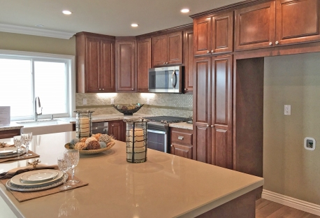 Beautifully updated kitchen in Casta del Sol Home in Mission Viejo