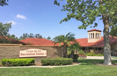 Recreation Center and Gardens at Casta del Sol Mission Viejo