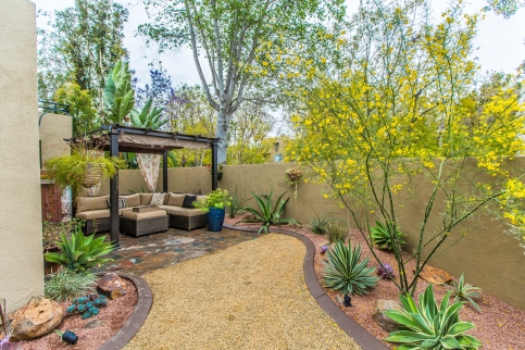 Water-wise Courtyard in Mission Viejo Home
