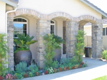 Courtyard Landscape Design Mission Viejo Home