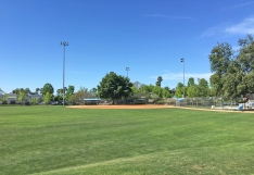 William S Craycraft Park Ballfield in Mission Viejo