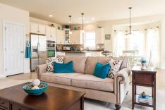 Great room feel in this updated kitchen and family room - idea for your Mission Viejo Home