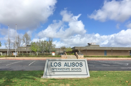 Los Alisos Middle SChool in Mission Viejo