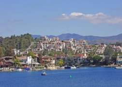 Mallorca Condos and Market on the Lake on Lake Mission Viejo