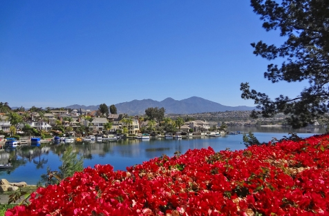 Bougainvillea at Lake Mission Viejo | Tres Vistas Custom Homes
