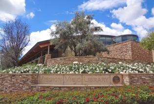 Mission Viejo Library Monument Sign