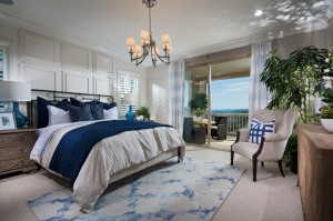 Updated Bedroom with Chandelier, Paneling and View Deck Mission Viejo Home