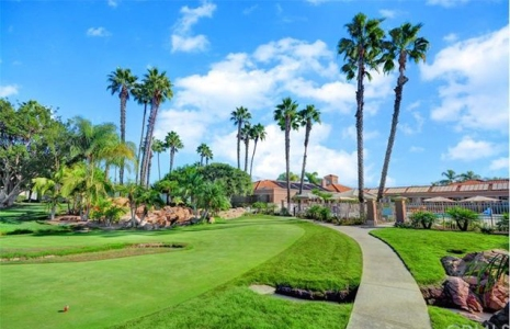 Golf Course at Palmia Homes Mission Viejo Over 55 Real Estate