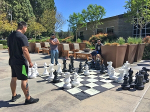 Playing Chess at Norman P. Murray Center Mission Viejo