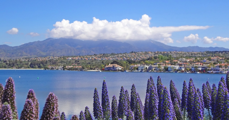 Lake Mission Viejo and Saddleback Mountain