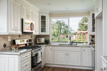 Updated Kitchen in Casta del Sol Home in Mission Viejo Over 55