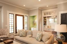 Renovated living room idea for your Mission Viejo Home art niche
