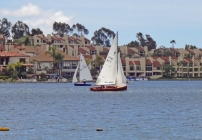ake Mission Viejo and Sail Boats