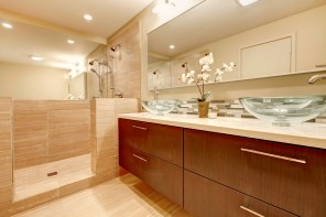 Beautifully Updated Bathroom in Mission Viejo Home