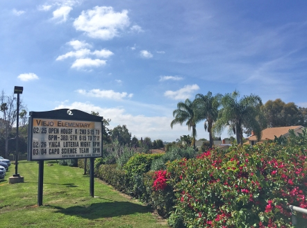 Viejo Elementary School in Mission Viejo