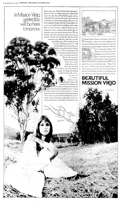 Beautiful Mission Viejo 1969