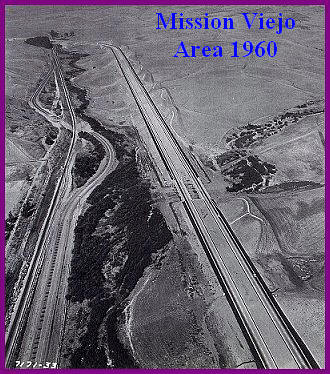 Mission Viejo Area Aerial Photo 1960; Oso Creek