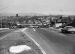 70's Photo of Laguna Hills Intersection Looking Toward Mission Viejo