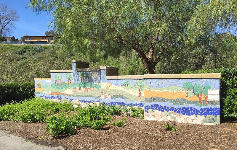 Oso Creek Trail Mission Viejo Artisan Mosaic