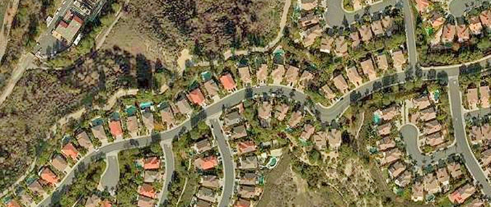 Pacific Hills Mission Viejo Aerial Photo