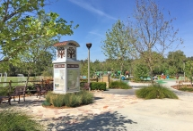 Oso Creek Trail Head Pavion Park in Mission Viejo