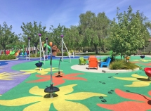 Colorful Fun at Pavion Park in Mission Viejo