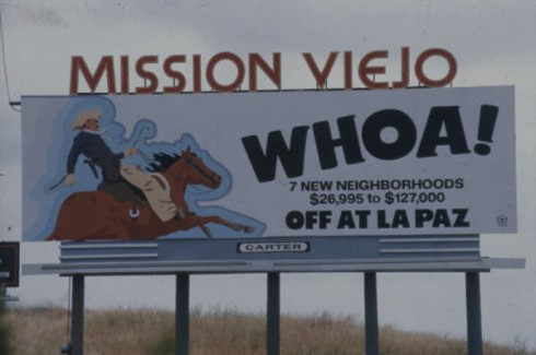 Old Mission Viejo Freeway Sign