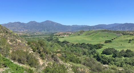 View of Saddleback and Arroyo Trabuco Mission Viejo
