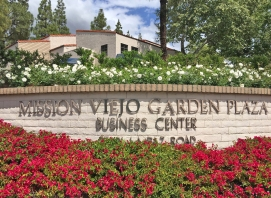 Mission Viejo Garden Plaza Sign