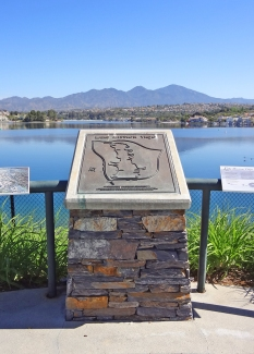 Monument at Lake Mission Viejo