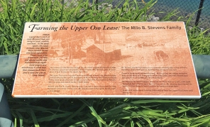 Upper Oso Lease Monument at Lake Mission Viejo