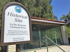 Mission Viejo Historical Site Marker - Whale Fossil